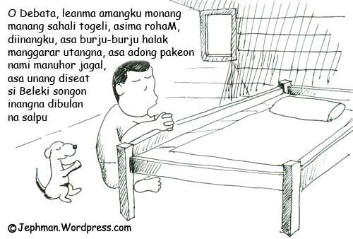 Ketawa Dan Meringis Karena Kartun Orang Batak