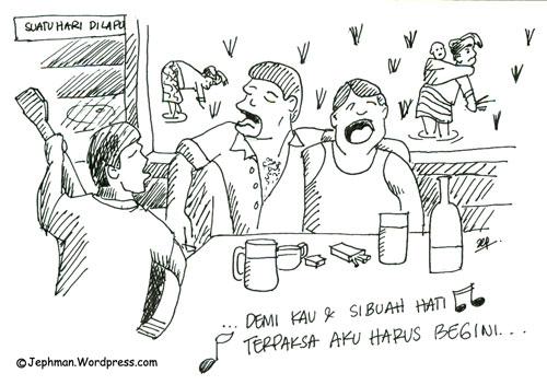 Ketawa dan Meringis, Karena Kartun Orang Batak